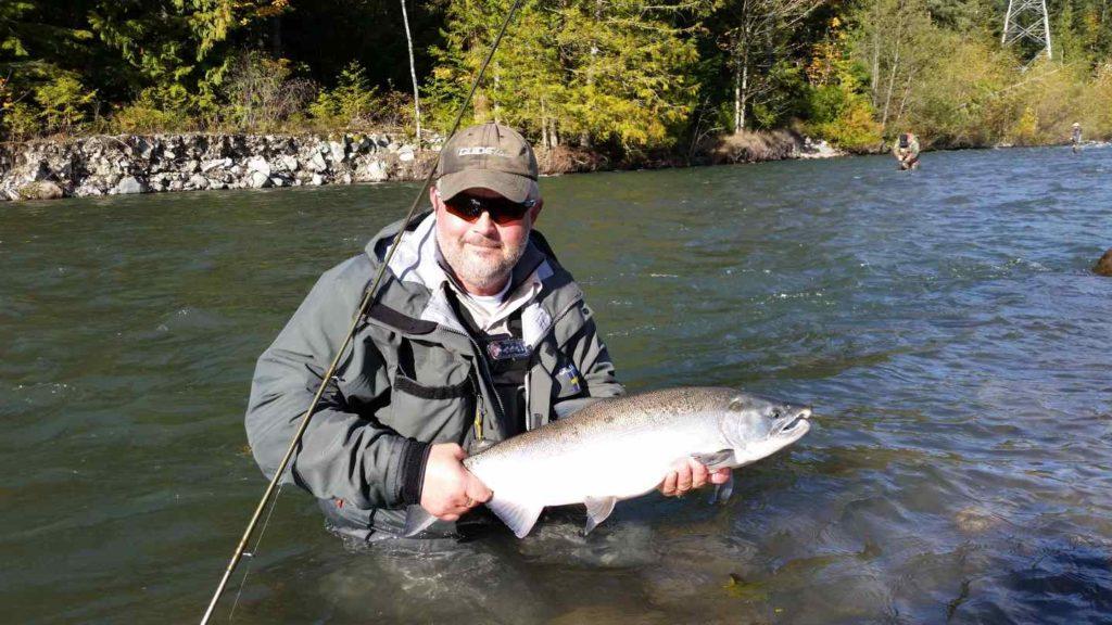 Fishing in Squamish, BC
