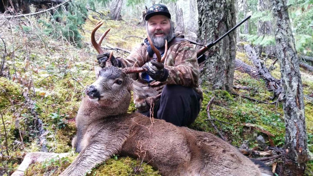 Hunting In Pemberton British Columbia Canada.