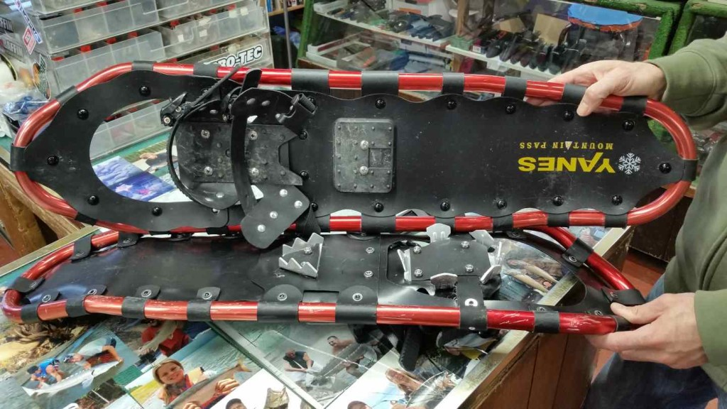 Snowshoe rentals in Pemberton and Whistler BC
